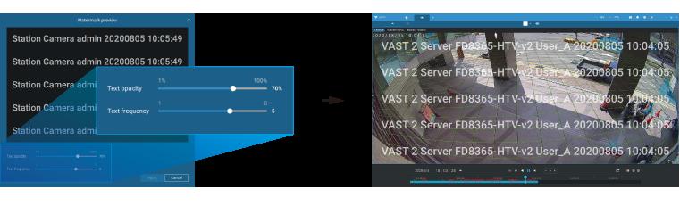 Display Watermark: Add Watermark on Display
