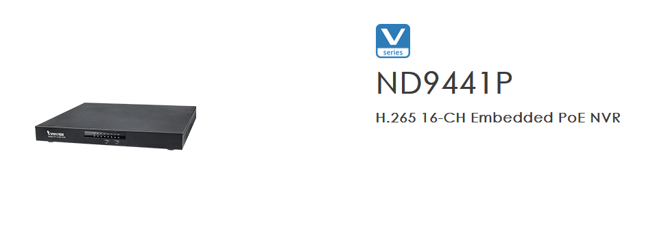 VIVOTEK's ND9441 and ND9541