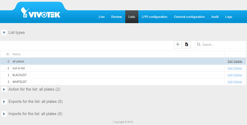 ib9365 lpr list management