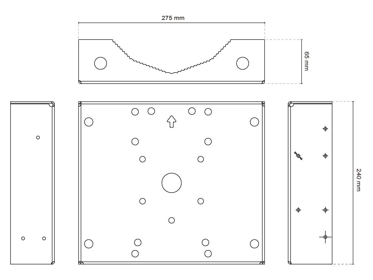 am 315 dimensions